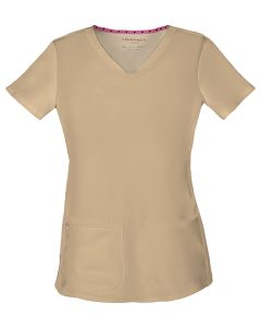 Shaped V-Neck Top